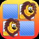 Memo Game Wild Animals Cartoon by Banana Apps Kids