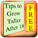 Tips To Grow Taller After 18 by elizapps
