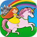 Princess Coloring Games Unicorn Girl Games Free by Eggroll Games
