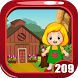 Cute Little Girl Rescue Game Kavi - 209