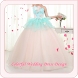 Colorful Wedding Dress Design by KinanApps