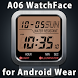 A06 WatchFace for Android Wear by Smartwatch Bureaux