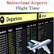 Switzerland Airports Flight Time by AsoftTechnology