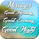 Morning Evening Night Messages by Droid Mobile App