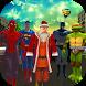 Santa Transform Superhero - Subway Xmas Runner