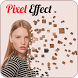 Pixel art effect on photo by Trending Mobile Apps