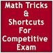 Math Tricks Competitive Exam by Gyan Badaye
