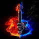 Fiery Music Live Wallpaper by Daksh Apps