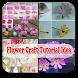 tutorial flower craft idea by tsPedia