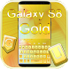 Gold Galaxy Theme For S8