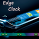Edge Clock for Note & S6 Edge by Sun Studios
