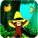 Curious Jungle George : Monkey Run by b11 Dev