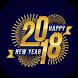 happy new year 2018 by Paradis