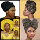 Dress Your Hair: Wear Gele (African Head Gear) by MaxGold Apps