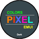 Colors Pixel Dark Theme for Huawei by ASNA Taj