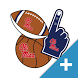 Ole Miss Rebels PLUS Selfie Stickers by 2Thumbz, Inc