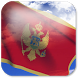 3D Montenegro Flag + by App4Joy