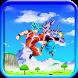 Super Saiyan Goku God by Calypso Zuma Apps