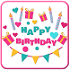 Happy Birthday Stickers - Wishing Stickers by Free Apps Express