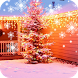 Christmas Snow Live Wallpaper by orchid