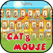 Mouse and Cat Theme&Emoji Keyboard by Cool Keyboard Theme Design