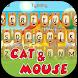 Mouse and Cat Theme&Emoji Keyboard