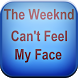 Can't Feel My Face lyrics by crazy peria