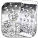 Silver Diamond glitter Theme Wallpaper by LXFighter-Studio