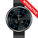 Glossy Classic Watch Face by SmartWatchStudio