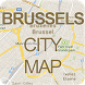 Brussels City Map by Signaware