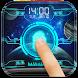 Space Fingerprint Lock Screen by