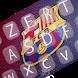 FC Barcelona Keyboard themes by sahara-team app