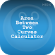 Area Between Two Curves Calc by HIOX Softwares Pvt Ltd