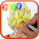 How to Draw DBZ Characters by How2Draw