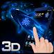 Neon Koi Fish Space 3D Theme by Elegant Theme