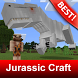 Map Jurassic Craft World Addon for MCPE by BestMapsAddons