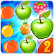 Fruit Link Crush King 2 by F A Studio.Inc