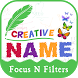 Creative Name Art - Focus N Filter