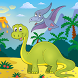 The Dinosaur Jigsaw Puzzle by Tidarat Dev