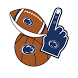 Penn State Nittany Lions Selfie Stickers by 2Thumbz, Inc