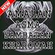 Amalan Asma Sambatan Kharomah Edisi Terlengkap by Doa Dan Amalan