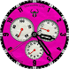 Ethereal VII - Hot Pink by Marauder Elite Watch Face Designs