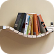 Bookshelf On Wall Ideas by Riri Developer