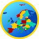 Europe map by Cygnus Software
