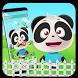 Black Cute Panda Theme