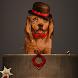 Mr Dog Golden Retriever by Launcher phone theme