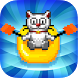 Jumpy Cat Rafting Free by Puzzle Brothers