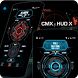 CMX - HUD X for KLWP by Christopher Martell X - CMX