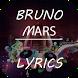 Bruno Mars Lyrics by PE Studio