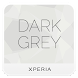 Dark Grey xperia theme by Utsav Shah